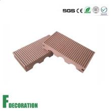 Decking al aire libre compuesto plástico de madera de 140 * 23m m WPC