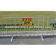 galvanized then pvc coated temporary yard barrier