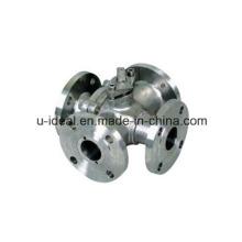 Q46h Válvula de esfera tipo quatro vias