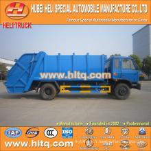 DONGFENG 4x2 12 M3 camion à déchets comprimés avec moteur à pression moteur diesel 190 CV