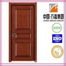 Stained Veneer MDF Wooden Door (WJ-P010)