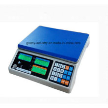 Échelle de table de comptage Énergie numérique numérique électronique