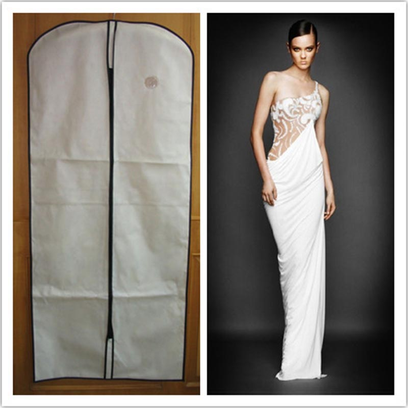 Transparent garment bag