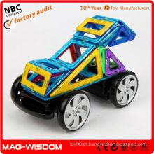 Brinquedos magnéticos engraçados da construção de DIY