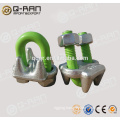 Bolt Clamp/Rigging Carbon Steel Forged Wire Rope Bolt Clamp 450