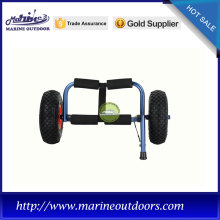 Trailer for kayak, Boat cart with anodized frame, Practical kayak carrier