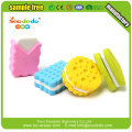 3D Food scented biscuit Shaped puzzle Eraser