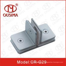 Hardware de vidro de aço inoxidável para quarto de chuveiro com forma especial (CR-G29)