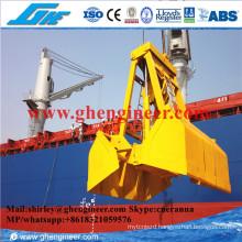 15t Electrical Hydraulic Clamshell Bulk Cargo Grab BV