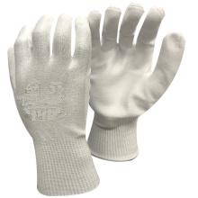 NMSAFETY verre utiliser coupe coquille 3 avec des gants de travail de paume en polyuréthane