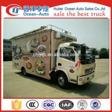 Multi-function food truck fast food van for sale
