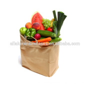 kraft paper bag manufacturer in China take away fast food paper bag