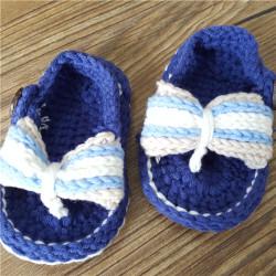 Fashion Shoe Wholesale Crochet Knitting Crochet Baby Shoes