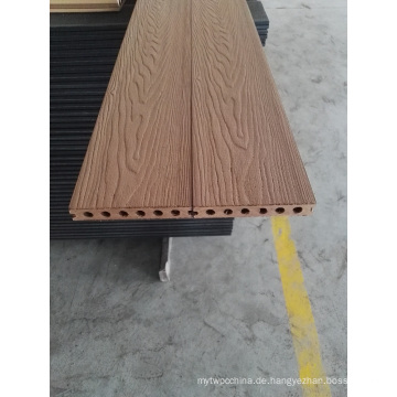 Neues Design Holzmaserung Typ WPC Comosite Decking