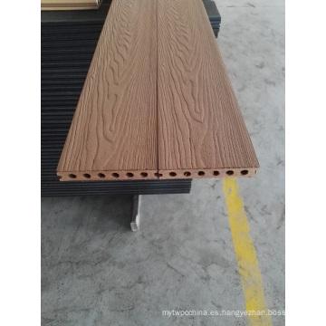 Nuevo tipo de madera de grano WPC Comosite Decking