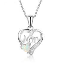 Opal Stone Hot Sale Popular Silver Jewelry Opal Pendant