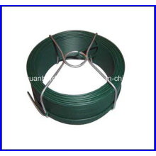 Fil en PVC recouvert de 1,0 mm / petit fil de bobine / fil de bobine galvanisé