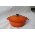 Enameled Cast Iron Casserole with Lid