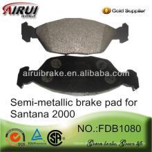 FDB1080 OE qualidade SANTANA 2000 freio pad