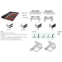 Cross Rigid Sidewall Corrugated Conveyor Belt