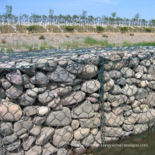 Made in China Export High Quality PVC Coated Gabion Basket