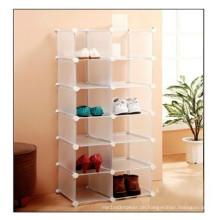 Weiß DIY Schuhregal, Wall Cube Storage (FH-AL03014)