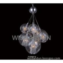 Art Deco Modern Pendant Lamp Home Lighting with Round Shade