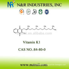High purity Vitamin K1 LIQUID 97%~103.0% CAS #84-80-0