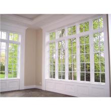 Janela de vidro grande janela de alumínio