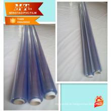 Plástico transparente filme laminado pvc uso plástico para cobertura de mesa