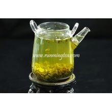 Folhas de chá verde soltas
