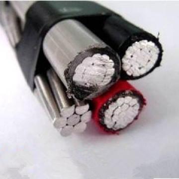 0.6 / 1kv Изоляцией из сшитого XLPE алюминиевого провода с AAC, ACSR, AAAC Conductor Messenger