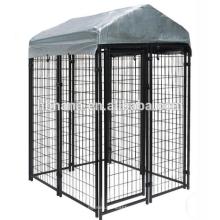 billige Hundezwinger mit Deckel / Drahtgitter Fechten Hundehütte
