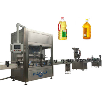 Fully Automatic Bottle Fish Corn Soybean Walnut Hemp Palm Coconut Vegetable Bottling Edible Cooking Oil Filling Machine