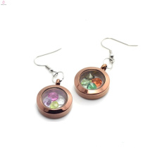Especiais estilos de brincos de chocolate jóias, top design rodada encantos brincos