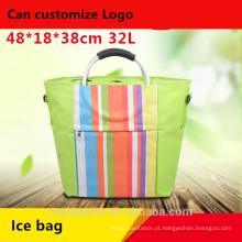 Niceway novo design de alta qualidade ice cooler bag colorido saco refrigerador isolado para camping