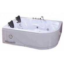 Banheira de hidromassagem interna para 2 pessoas com painel de controle