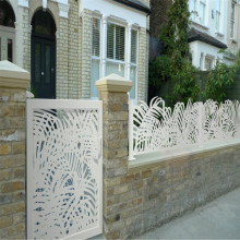 Custom Laser Cut Metal Fencing Panels