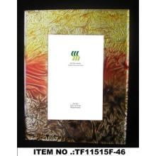 Crystal Gold Folie Papier Glas Fotorahmen