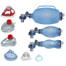Reusable Silicone PVC Manual Resuscitator