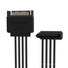 ORICO 1 bis 4 15 Pin Power Verlängerungskabel - (DC15P-PX4)