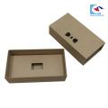Custom Printed Drawer Gift Box For Bow Tie kraft Packaging
