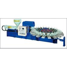 Máquina de moldagem por injeção aberto de molde de sopro totalmente automático de PVC