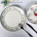 Grace Designs Ceramic Dinnerware Can be Customized Cheap Charger Plates