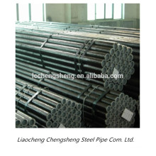 China hot sale sch40 large diameter pipe hot rolled black seamless steel pipe