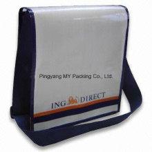 Saco tecido relativo à promoção do saco relativo à promoção do ombro das mensagens dos adolescentes do costume