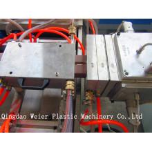 Ligne d'extrusion de profil composite en plastique PE / PP