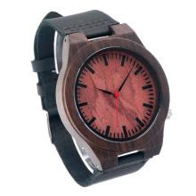 Nuevo reloj de moda de madera del movimiento del Japón de la protección del medio ambiente Bg452