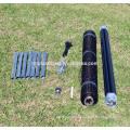 1.2m x 200m UV plastic bi-oriented anti mole grid net for lawn protection mesh