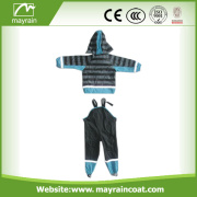 Raincoat Kid PU Rain Jacket Rain Pants OEM